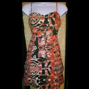 Hurley abstract dress
